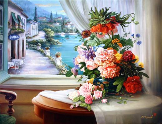Владимир Абат-Черкасов. Evening bouquet