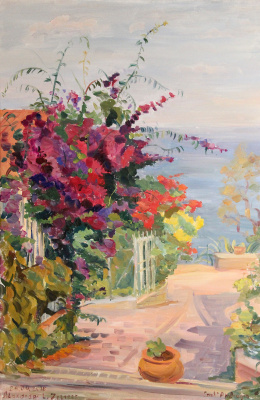 Alexandra L. ZELTSER. Scalinata