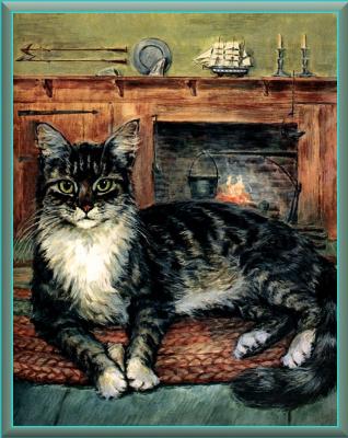 Мардж Опиц Буридг. Кошачье искусство 12