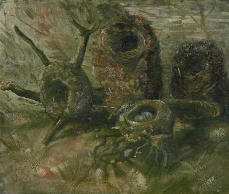 Винсент Ван Гог. Птичьи гнезда