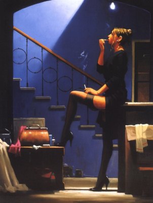 Jack Vettriano. Dance for money
