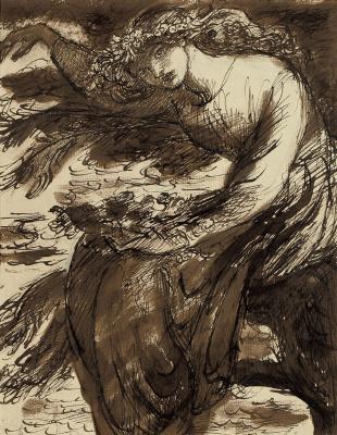 Dante Gabriel Rossetti. Ophelia
