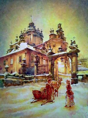 Alexey Yuryevich Maslov. Lviv