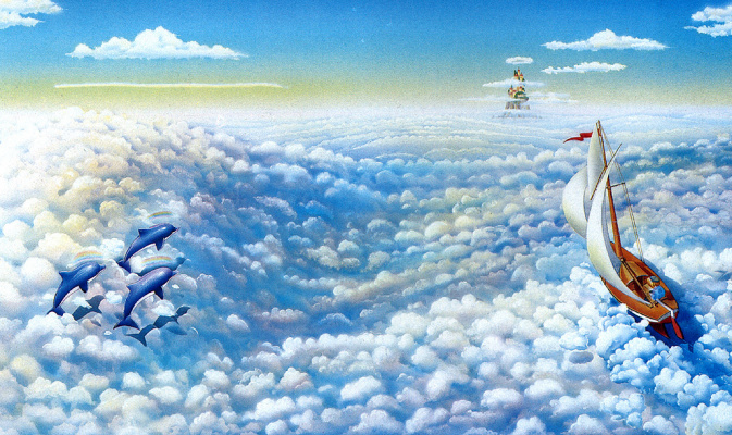 Дэн Макгован. Облачное море