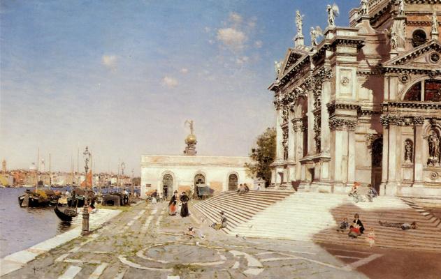 Мартин Рико Ортега. Санта-Мария делла Салюте Венеции
