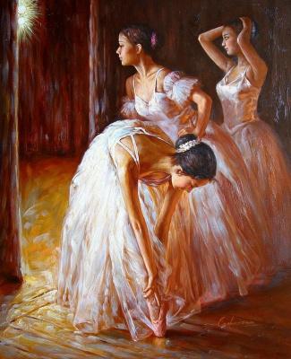Гуань Зе-Джу. Балерины 4