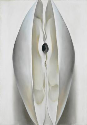 Georgia O'Keeffe. Ajar sink