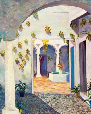 Рафаэль Ботэ. Горшки с цветами