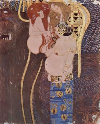 Gustav Klimt. Plot 19