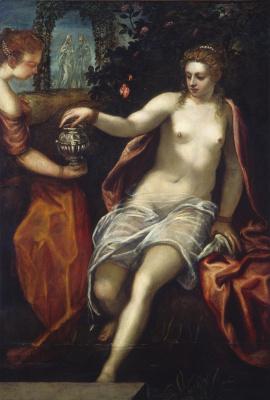 Jacopo (Robusti) Tintoretto. Susanna