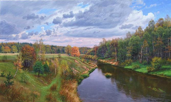 Alexander Vasilyevich Zoryukov. Autumn day is alarming. Bolva