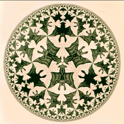 Мауриц Корнелис Эшер. Циклический предел IV