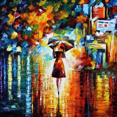 Leonid Afremov. Princess of rain