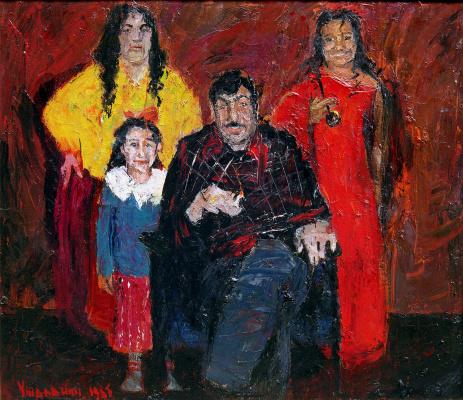 Yuri Leonardovich Uzhdavini. Family