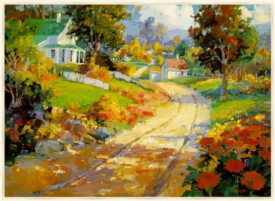 Steve Songer. Autumn day
