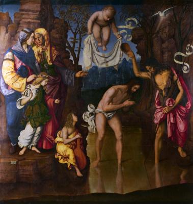 Заганелли Франческо. Крещение Христа