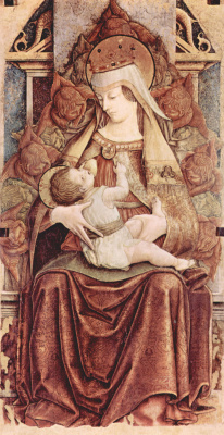 Carlo Crivelli. Madonna enthroned