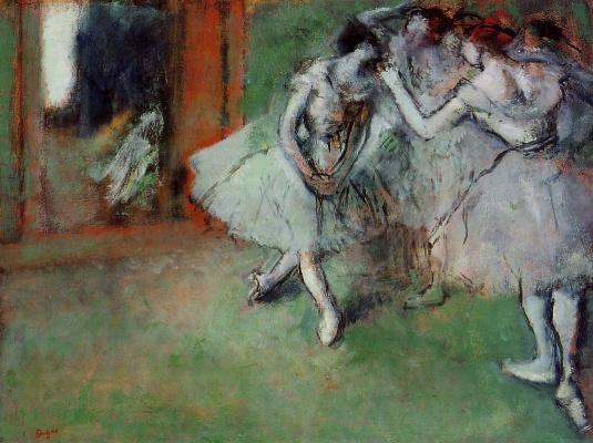 Группа балерин