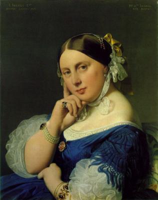 Delphine Ramel, Madame Ingres