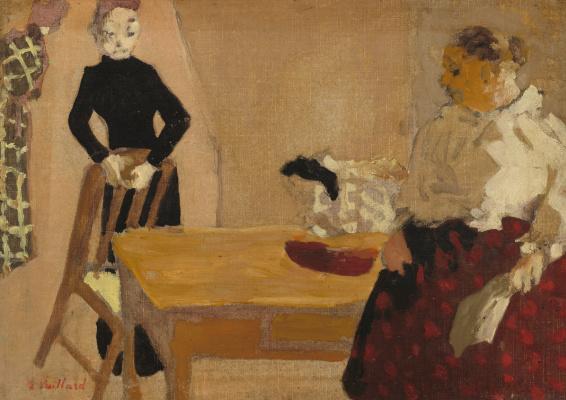 Jean Edouard Vuillard. The conversation
