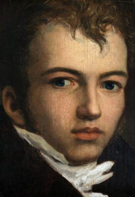 Johann Friedrich Overbeck. Portrait of the artist Johann Karl Eggers