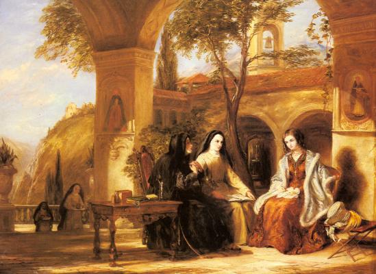 Уильям Коллинз. Мировой монастырь