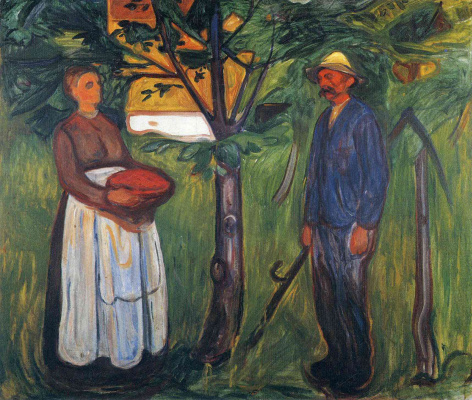 Edward Munch. Fertility II