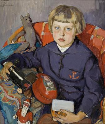 Елена Андреевна Киселева. Портрет сына