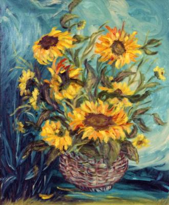 Rita Arkadievna Beckman. Sunflowers
