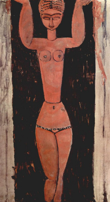 Amedeo Modigliani. Caryatid