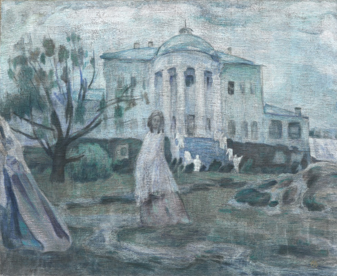 Виктор Эльпидифорович Борисов-Мусатов. Призраки