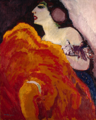 Kees Van Dongen. Red dancer. 1907