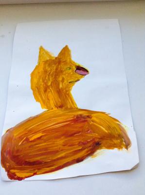 Polina Borzova. Fox