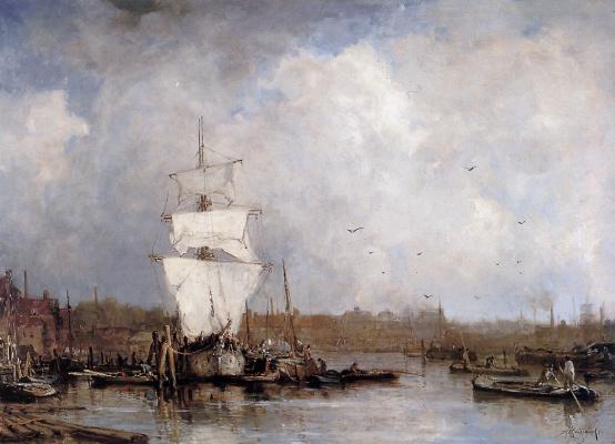Харбор в Роттердаме