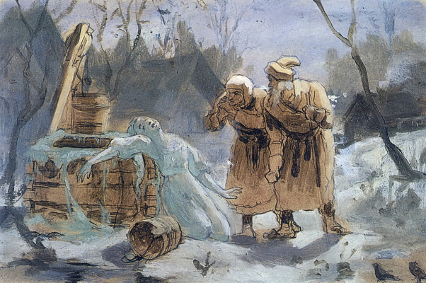 Vasily Grigorievich Perov. Melting Snow Maiden