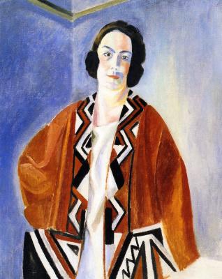 Robert Delaunay. Portrait of Helene Marré