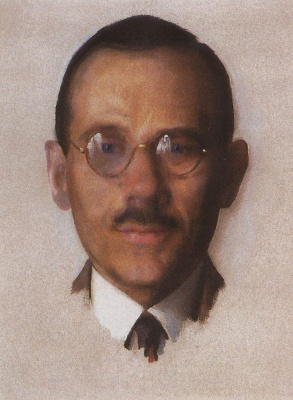 Константин Андреевич Сомов. Портрет Попова