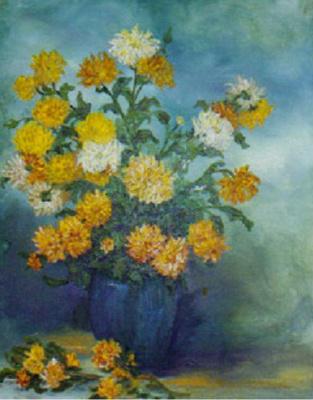 Rita Arkadievna Beckman. Chrysanthemum