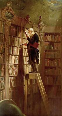 Karl Spitzweg. Bookworm