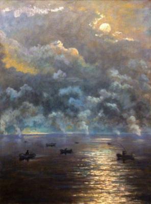 Yuri Gennadievich Piskunov. Rising fog