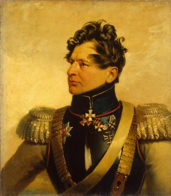 George Dow. Portrait of Ivan Sergeevich Leontyev