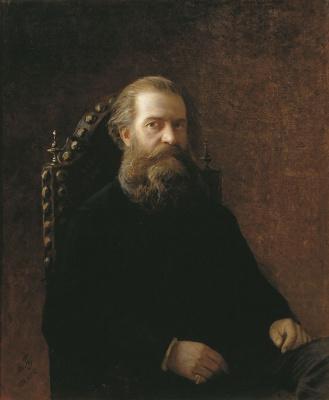Nikolai Nikolaevich Ge. Portrait Of Pyotr Arkadyevich Kochubey