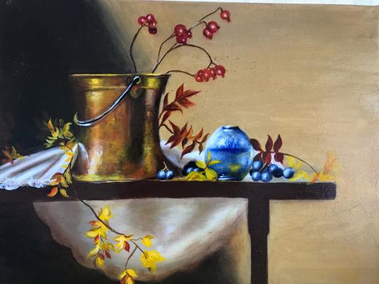 Elena Gorshkova. Autumn still life
