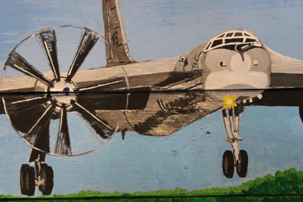 Michael Earthman. TU-95 bomber