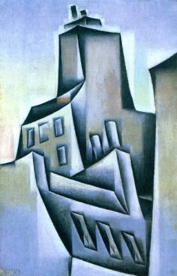 Хуан Грис. Дома в Париже