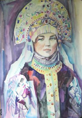 Irina Valerievna Antonovskaya. Slav