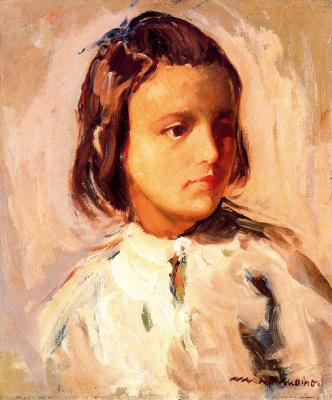 Миро Маиноу. Портрет девочки
