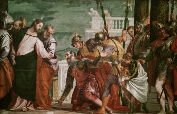 Paolo Veronese. Christ and Centurion