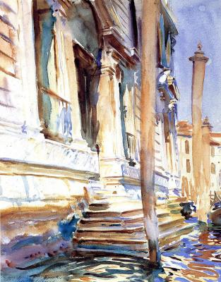 John Singer Sargent. Doorway of a Venetian Palace