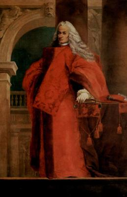 Джованни Баттиста Тьеполо. Портрет полномочного доверенного